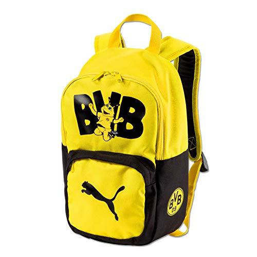 Rucksack für Kinder BVB Borussia Dortmund + Sticker Dortmund Forever Schulrucksack Backpack Mochila Kinderrucksack Kids