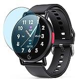 Vaxson 3 Stück Anti Blaulicht Schutzfolie, kompatibel mit AGPTEK G22 smartwatch Smart Watch, Displayschutzfolie Bildschirmschutz [nicht Panzerglas] Anti Blue Light