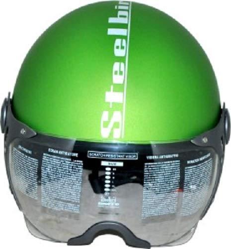 Steelbird SB-27 Style Green with plain visor,600 mm