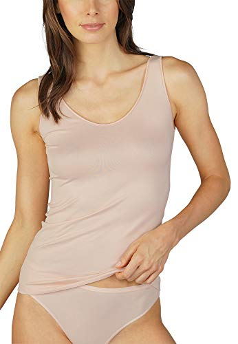 Mey Basics Serie Emotion Damen Tops breiter Träger Beige 40