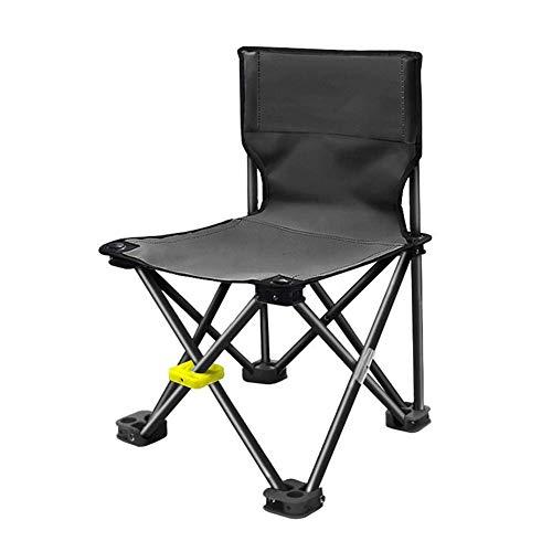 WJXBoos sillas de camping ultraligero portátil multifuncional silla de pesca silla de playa plegable Adecuado para viajes, excursiones, visitas autoguiadas