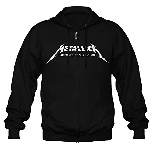Sudadera Official Metallica Hardwired (Negro) - L