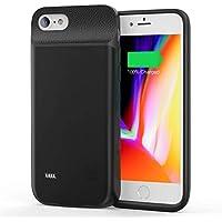 """JCK Funda Bateria para iPhone 8 Plus / 7 Plus / 6s Plus / 6 Plus, 9200mAh Funda Cargador Portatil Ultra Capacidad Carcasa Batería Recargable Batería Externa para iPhone 7 Plus /6sP/6P/8P, 5.5"""", Negro"""