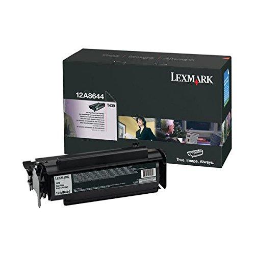 Lexmark 12a8425Lexmark T43012K Chariot-Programme-Rückkehr