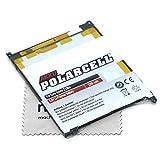 Batterie de rechange pour Sony Xperia Z Ultra (remplace la batterie d'origine LIS1520ERPC) Polarcell avec chiffon de...