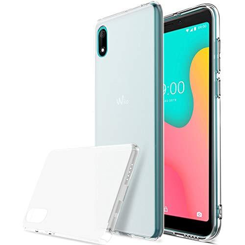 iBetter für Wiko Y60 Hülle, Soft TPU Ultradünn Cover [Slim-Fit] [Anti-Scratch] [Shock Absorption] passt für Wiko Y60 Smartphone