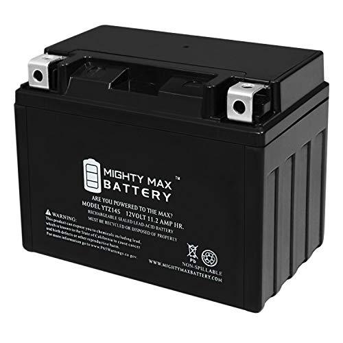 Mighty Max Battery YTZ14S 12v 11.2Ah 230CCA Battery for 2010 Honda VFR1200F/FD Brand Product