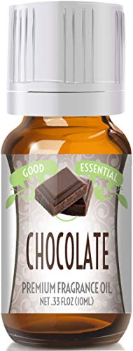 Chocolate Scented Oil by Good Essential (Premium Grade Fragrance Oil) - Perfect for Aromatherapy, Soaps, Candles, Slime, Lotions, and More!