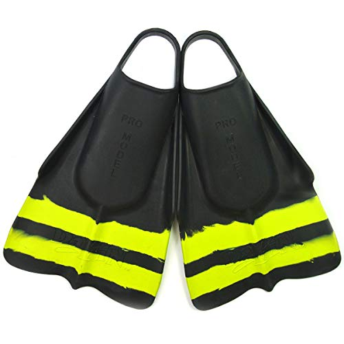 Slyde Handboards DaFin Made Limited Edition Swim Fins for Handboarding, Swimming and Bodysurfing. - Free Bag Included - (Size: Small = Mens 5-6 Womens 6.5-8)
