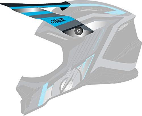 O'NEAL 3 Series Vision Visor Helm Blende Schirm schwarz/grau Oneal