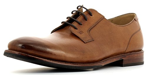 Gordon & Bros Gary 5400 Flex G - Zapatos con cordones para hombre, suela flexible Goodyear Welted para una comodidad perfecta, para negocios, ocio, color Marrón, talla 42 EU