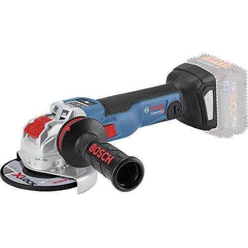 Bosch Professional 18V System Akku Winkelschleifer GWX 18V-10 C (X-LOCK, Leerlaufdrehzahl: 9.000 min-1, Scheiben-Ø: 125mm, ohne Akkus und Ladegerät, in L-BOXX 136)