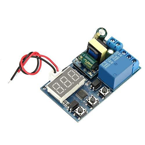 Tablero de relé Interruptor Temporizador multifunción Ciclo del relé de Control de automatización Módulo Relés para Control de automatización.