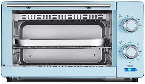 Lloow Cocinar la Torta del hogar Mini portátil de pequeño Horno de Pan Cocina eléctrica de múltiples Funciones Horno Breakfast Sandwich,Azul