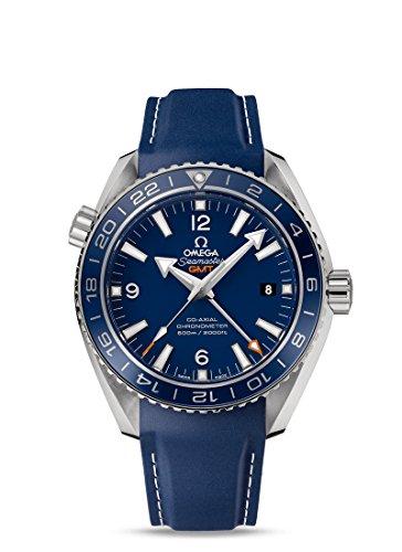 Omega Seamaster - Reloj (Reloj de pulsera, Titanio, Acero inoxidable, Caucho, Azul, Zafiro)