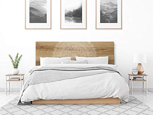 setecientosgramos Cabecero Cama PVC | Mándala | Varias Medidas | Fácil colocación | Decoración Dormitorio (150x60)
