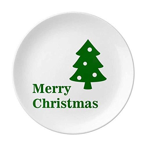 mas Tree Star Gift Hope Piatto Decorativo Porcellana Salver Stoviglie Cena Piatto
