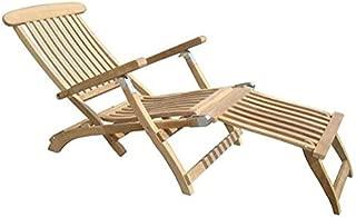 Royal Teak Collection STML Teak Lounging Steamer Deck Chair