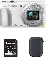 Panasonic DMC-ZS35W Digital Camera Bundle (Case + 16GB SD Card)