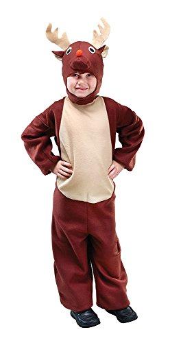 Renna - Età - Bambini Costume - Età - 90 centimetri a 104 centimetri - Ages 2-4