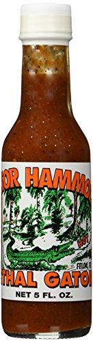 Gator Hammock, Louisiana Hot Sauce, Lethal Gator, 148ml/5 Fl Oz
