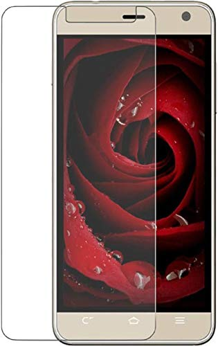 DARSHILGLOBE Anti-Fingerprint Hammer Proof Impossible Screen Protector [Not a Tempered Glass, 10x togher then normal glass] Screen Guard with easy installation kit for Panasonic Eluga Mark