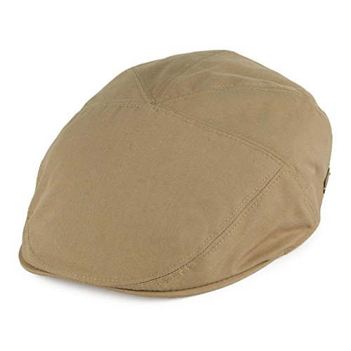Village Hats Casquette Plate Hydrofuge Graham Beige Sable Bailey - Large