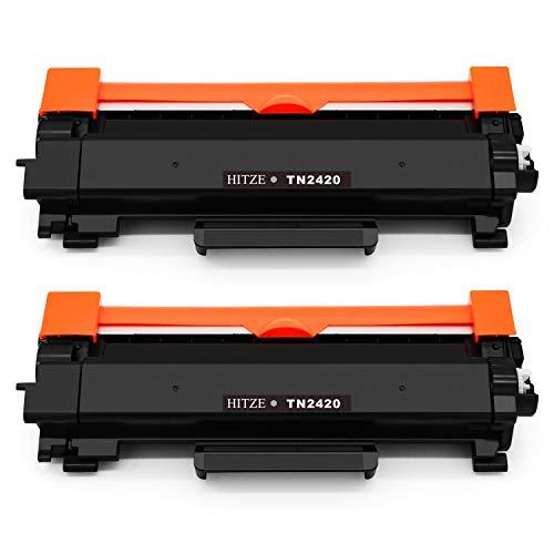 Hitze TN-2420 TN-2410 Toner Compatible para Brother MFC-L2710DW MFC-L2750DW MFC-L2730DW MFC-L2710DN HL-L2350DW HL-L2310D HL-L2370DN DCP-L2530DW DCP-L2510DN DCP-L2550DW HL-L2375DW (MIT Chip)