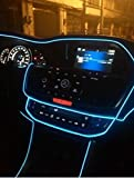 AutoBizarre Blue Color 5 Meters Car Interior Decoration Cold Light Line EL Wire (Works With All Cars)