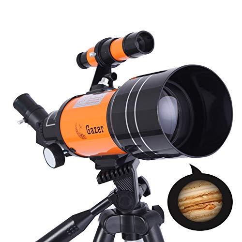Tik Telescopio para niños y Principiantes: para Llevar fácilmente -