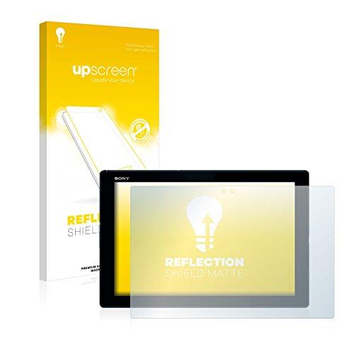 upscreen Entspiegelungs-Schutzfolie kompatibel mit Sony Xperia Z4 Tablet – Anti-Reflex Bildschirmschutz-Folie Matt