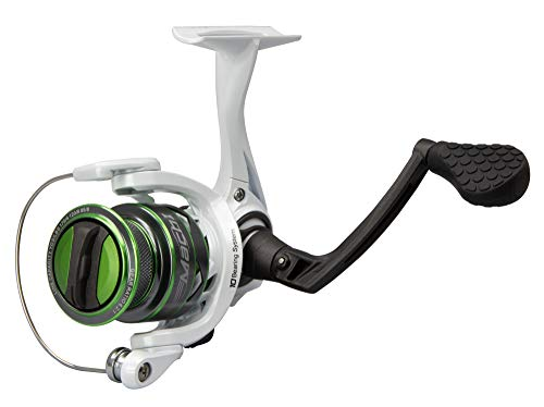 LEW'S Fishing Mach 1 Speed Spin Series, Spinning Reel, Fishing Reel, Fishing Gear and Equipment, Fishing Accessories (MH100A)