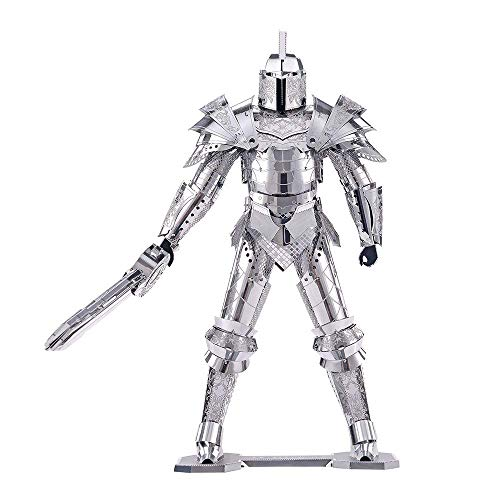 【Easy to Assemble】 The Metal sheets of 3D puzzle metal model kit are made by superior 430 stainless steel and all metal parts would be easily clipped ,no glue or solder need during assembly. 【Hours of Fun】 Release the your working pressure ,enjoy hou...