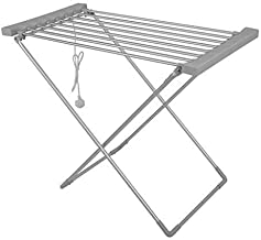 Vellex Portable Electric Clothes Dryer Heated Hanger Towel Rail Airer Laundry Rack 230W (Large)