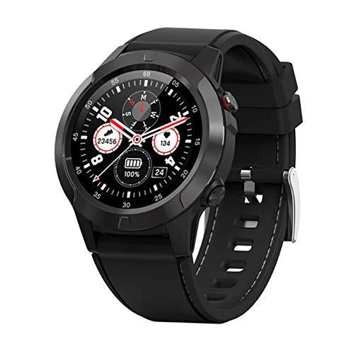 ADH Smart Watch Sports Smartwatch Smartwatch Tarifa Cardíaca Presión Arterial Pulsera Inteligente M4 ECG (para iOS Android),C
