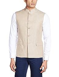 Van Heusen Mens Linen Waistcoat