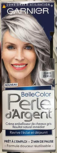 Garnier–Belle Color–Perla D' argento–Crema déjaunisseur Lucentezza Capelli Grigio Grigio–Grigio Perla