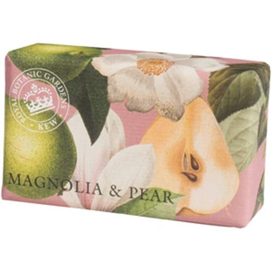 延ばす医療過誤プレゼンEnglish Soap Company イングリッシュソープカンパニー KEW GARDEN キュー?ガーデン Luxury Shea Soaps シアソープ Magnolia & Pear マグノリア&ペア