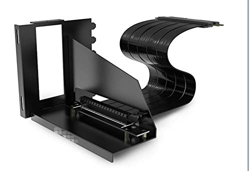 MiaoMiao Soporte de GPU Vertical 6pci Slots extensión VGA Soporte de instalación Vertical de 90 Grados PCI-E PC Cooler Mod B-6HPCI-E-X Service (Blade Color : 6 Slots Bracket Kit)
