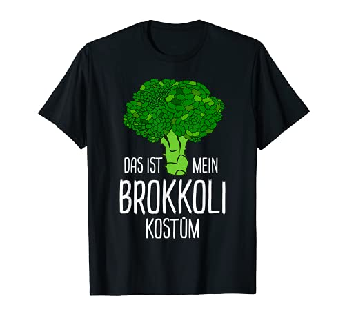 Disfraz de brcoli de verduras para carnaval Camiseta