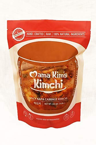 Mama Kim's Kimchi – Spicy Napa Cabbage Kimchi 32oz Pouch Freshly Made