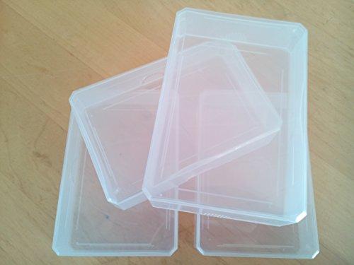 Grundschule Plus - Lehrmittel - Ordnungshilfen / 1.-4. Schuljahr - Kunststoffboxen (mittel): 10 Stück (Größe 6,5 x 9,8 x 2,5 cm)
