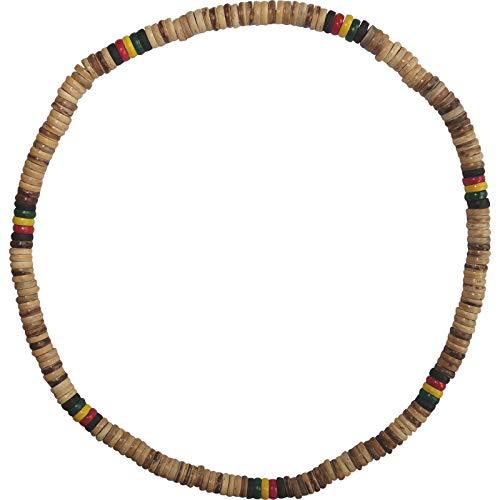 Wooden Necklace Chain Mens Womens Boys Girls Wood Rasta Surfer Beach Jewellery