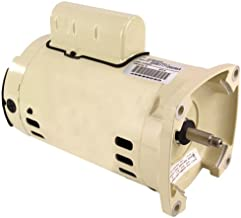 Pentair 075234S Almond Standard Single Phase 1 HP Square Flange Motor Replacement Pool and Spa Pump