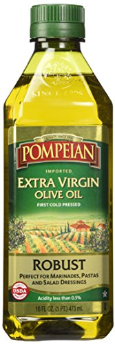 Pompeian Robust Extra Virgin Olive Oil, 16 Ounces