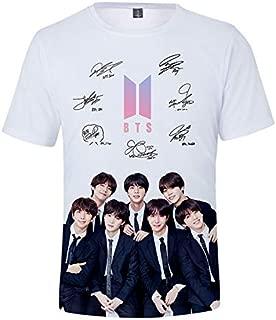 Bts Bangtan Boys Love Yourself T Shirt Women/Men Harajuku Summer Cool Short Sleeved Casual K-Pop Cotton 3D T-Shirt