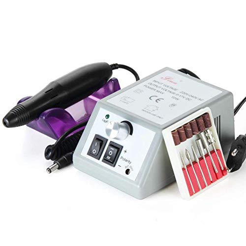 Metermall Healthy for 20000RPM Electric Nail Polisher Drill Gel Cuticle Remover Manicure Pedicure Machine Tool EU plug
