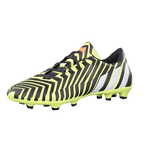 Adidas Predator Absolado Instinct FG Football Boots (Yellow/Grey)-UK Size 9
