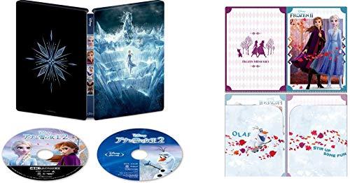 【Amazon.co.jp限定】アナと雪の女王2 4K UHD MovieNEX スチールブック(オリジナルWポケットクリアファイル付き) [4K ULTRA HD+ブルーレイ+デジタルコピー+MovieNEXワールド] [Blu-ray]
