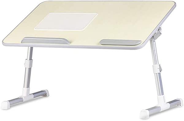 笔记本电脑桌多功能可调节笔记本电脑桌便携折叠桌支架托盘可拆卸床用小桌子书桌